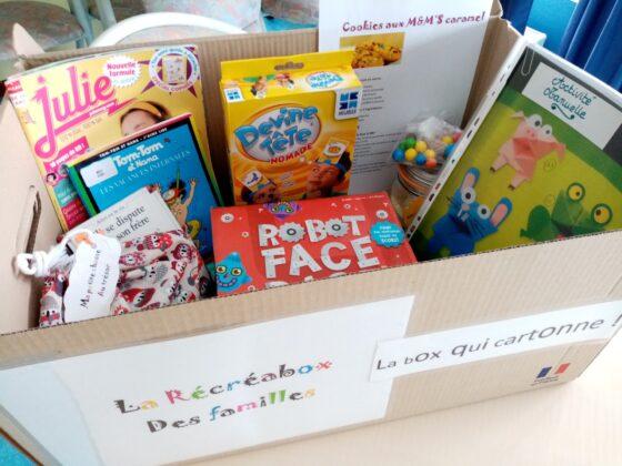 Découvrez la RECREABOX DES FAMILLES au Centre Social